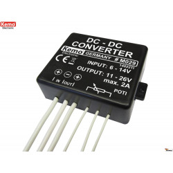 Convertitore DC-DC duplicatore di tensione 1-2A da 6-14V a 11-26V