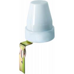Interrupteur crépusculaire 230V pour usage extérieur avec réglage de la luminosité