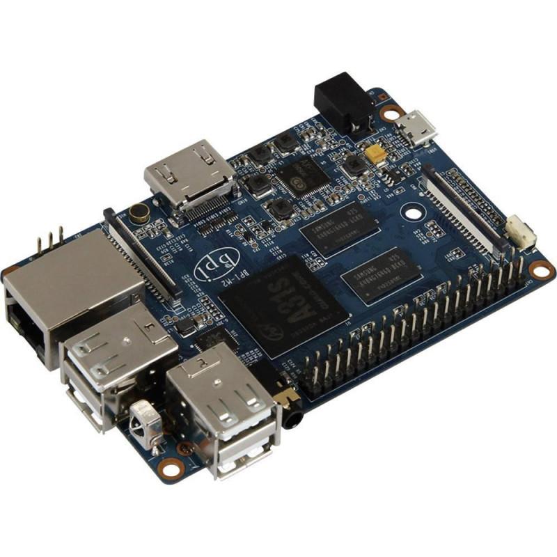 Embedded PC BananaPI M2 ARM  quad core 1GHz 1GB RAM,microSD,WiFi,HDMI