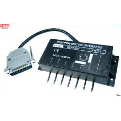 Parallel LPT 4-17V DC 2A bipolar stepper motor axis control interface