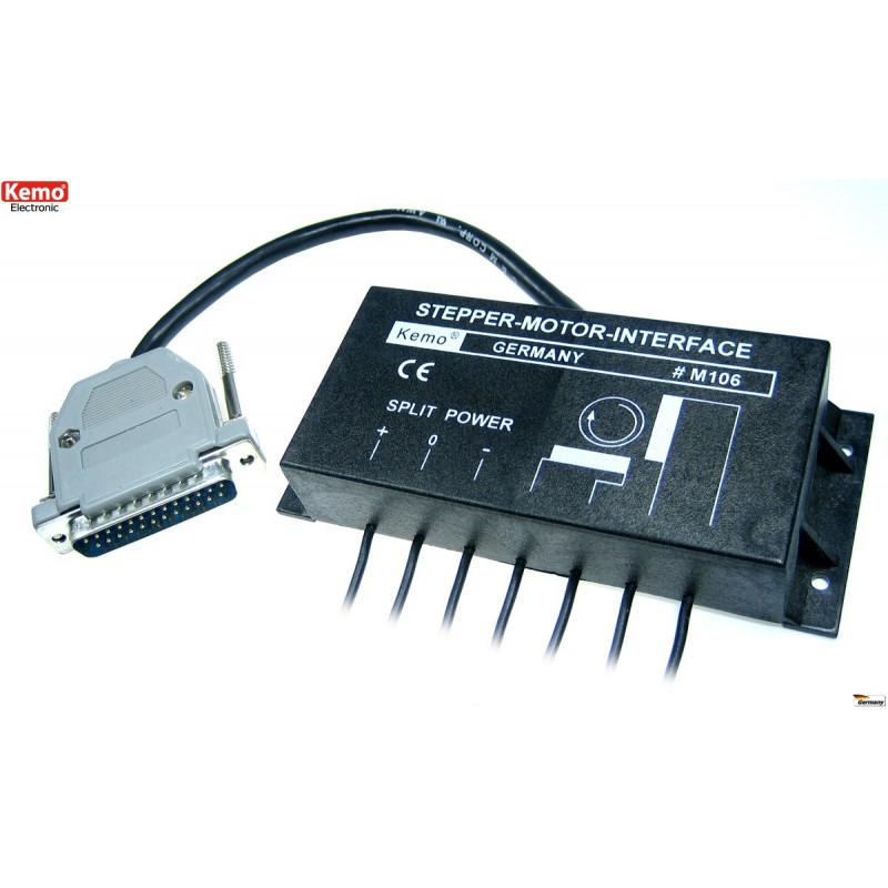 Interfaccia controllo asse motore passo passo bipolare LPT parallela 4-17V DC 2A