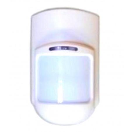Sensore PIR volumetrico wireless 433.92MHz a batteria 9V per Allarme 2800-LED
