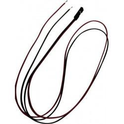 Cavetto  50cm con connettore strip femmina totale di poli: 2 passo: 2,54 mm