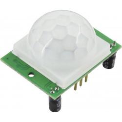 Sensore di movimento PIR 5V DC con sensibilità e timer regolabile per Arduino