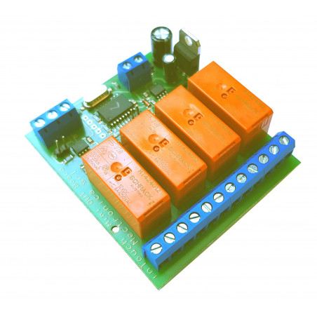 MB Mini OUT Device - 4 outputs on RS485 bus with 32 connectable devices