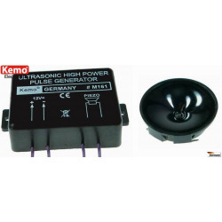 Small animal ultrasonic jammer repellent high power 4 transducers