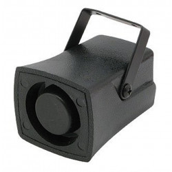 High power 1/6 tone piezo siren 12V DC 108 dB for burglar alarms and alarms