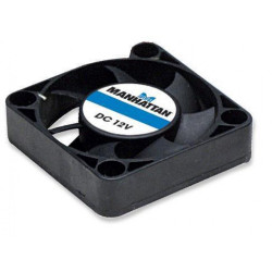 Ventola raffreddamento brushless 12V DC 40x40x10 connettore passante molex 4 pin