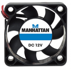 Brushless cooling fan 12V DC 40x40x10 through 4 pin molex connector