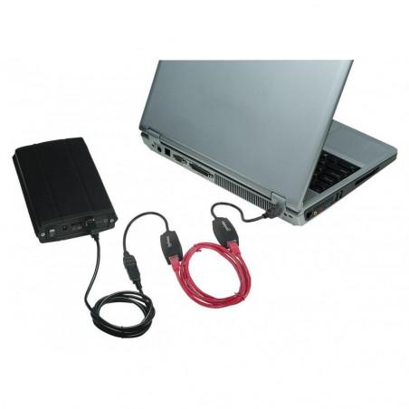 Extensor de línea USB en cable Cat 5E para dispositivos USB que se pueden conectar hasta 60 m