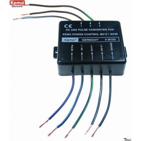 Convertisseur de contrôle de tension DC PWM pour contrôles de puissance M012 M028N