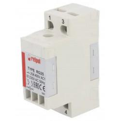 Modulo relè DPST-NO 25A 400V AC DC bobina 230V AC modulo barra DIN