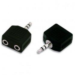 Adattatore sdoppiatore Jack Audio 3.5mm Stereo 1Maschio – 2Femmina