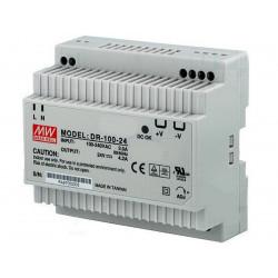 Universelles stabilisiertes Schaltnetzteil DIN Bar 12V DC 7,5A DR-100-12