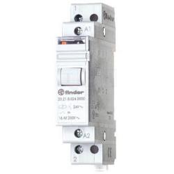 FINDER 20.23 Relè ad impulsi bistabile 24V DC con 2 contatti NA NC 16A 250V