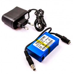 Alimentation par batterie au lithium rechargeable UPS 1800mAh 300mA12V DC CCTV