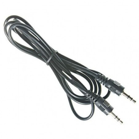 Cavo collegamento Audio Stereo Jack 3.5 mm Maschio / Maschio 0,6m
