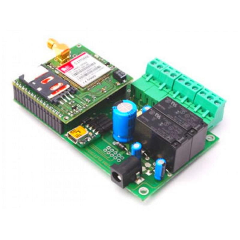 Telecontrollo GSM 2 IN 2 OUT controllo remoto bidirezionale programmabile