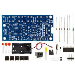 Récepteur FM KIT 76-108 MHz puce numérique STEREO sortie jack casque HEX3653
