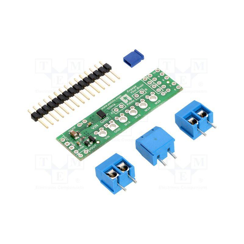 Integrated Shield Driver Module DRV8835 2 DC 1.2A PWM motors for Arduino