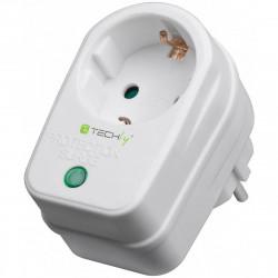 Schuko socket for lightning and overvoltage protection 230V 16A