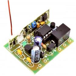 MONTATO Ricevitore radio wireless 1CH codifiche MM53200, HT12, PIC autoapprendimento