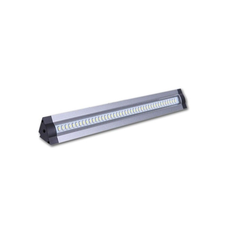STRI SCI A BARRA LED 100cm ALUMINIO ANGULAR RIGIDO COMPONIBLE 12V