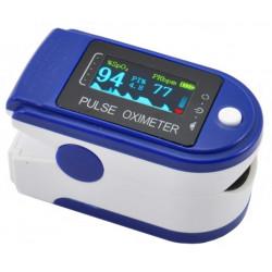 Saturimetro pulsossimetro e cardio frequenzimetro portatile da dito a batteria