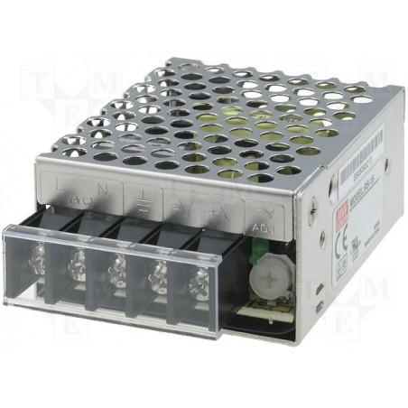 Alimentatore universale switching stabilizzato 12V DC 1,3A RS-15-12