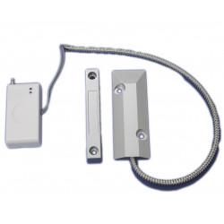Capteur magnétique sans fil 433 batterie 12V pour alarme de fenêtre de porte 2800-LED