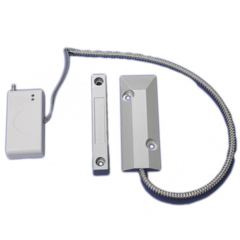 Sensor magnético inalámbrico 433 batería 12V para puerta ventana Alarma 2800-LED