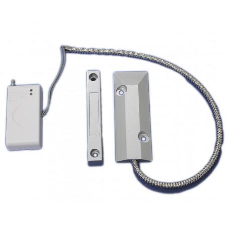 Sensore magnetico wireless 433 batteria 12V per porta finestra Allarme 2800-LED