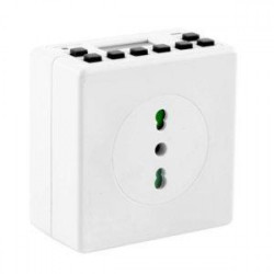 Compact digital timer daily and weekly 16A 3600W battery backup