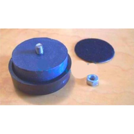 Contenitore console pannello in acciaio e alluminio 180x150x80 mm da assemblare