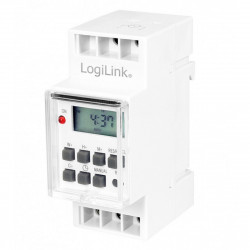 230V Daily and Weekly Digital Timer for DIN Rail Mounting