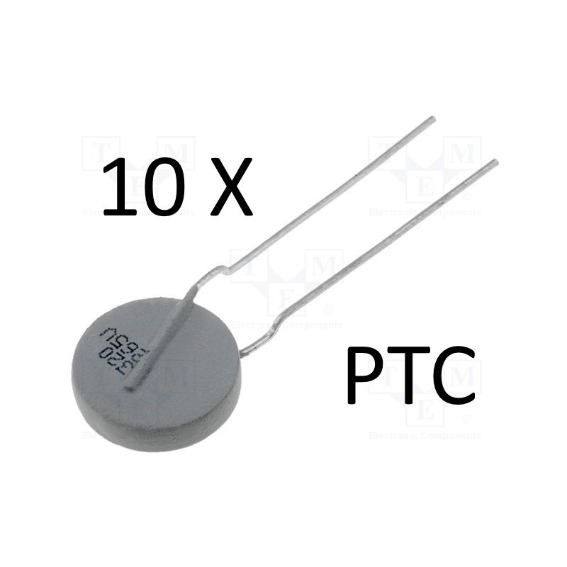 10 x PTC VISHAY PTCCL13H321HBE BC 8R4 320mA 265V protezione sovraccarico