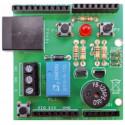 Shield Arduino POWER METER per ECODHOME MCEE USB & SOLAR