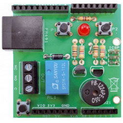 Shield Arduino POWER METER per ECODHOME MCEE USB & SOLAR