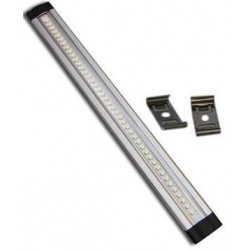 STRI SCI BAR LED 50cm RIGID ALUMINUM COMPONIBLE 12V with mounting brackets