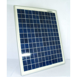 Panel módulo solar fotovoltaico 20W 12V 1600mAh 440x360x25 mm energía