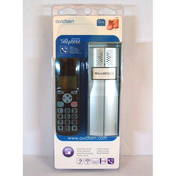 Kit citofono wireless 200m chiamata su telefono cordless - Citofono wireless lunga portata ...