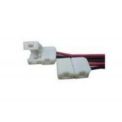 Zu öffnende Verbindung mit Drähten für einfarbige 2-Kontakt-LED-Streifen