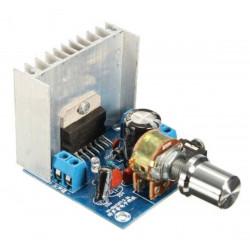 Amplificatore audio stereo 2x15 watt con TDA7297 ingresso audio jack
