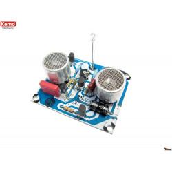 Capteur de proximité à ultrasons réglable KIT 10–80 cm 9-12 V DC