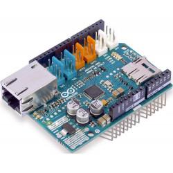Shield Arduino Ethernet 2 Wiznet W5500 LAN 10/100 con lettore microSD originale