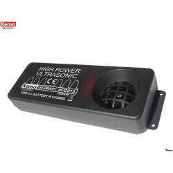 Répulsif brouilleur à ultrasons portable pour rongeurs, martres, souris 200m alimenté par batterie