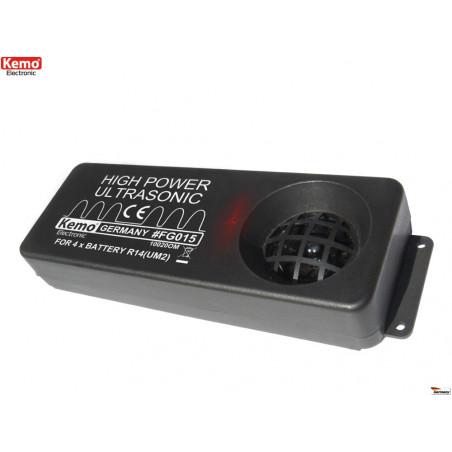 Repellente disturbatore portatile ultrasuoni roditori, martore, topi 200m a batteria