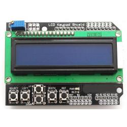 Shield LCD Arduino 6 pulsanti e pannello alfanumerico retroilluminato LCD 16x2