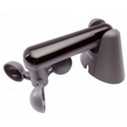 Sensore velocità vento 3 pale trasparente con staffa di fissaggio contatto uscita