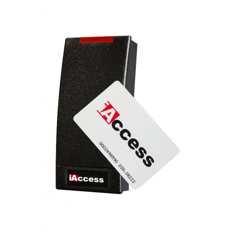 Serratura elettronica iAccess WX RFID esterno e interno con relè e Wiegand